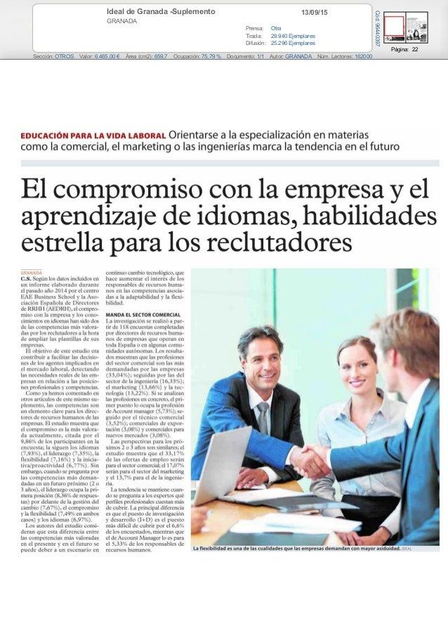El compromiso con la empresa y el aprendizaje de idiomas - M a interiorismo cb granada ...