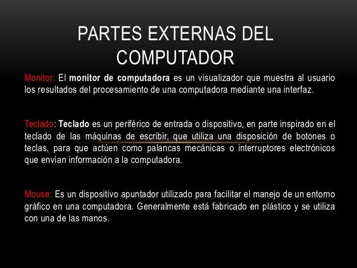 El computador Slide 3
