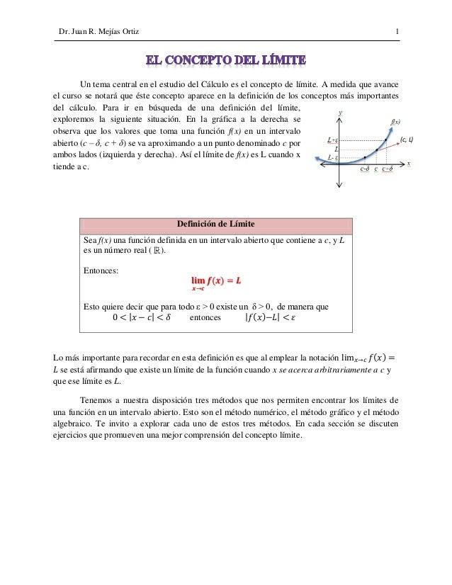 Funciones y limites calculo diferencial pdf
