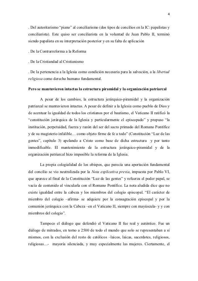 El Concilio Vaticano Ii Una Utopia