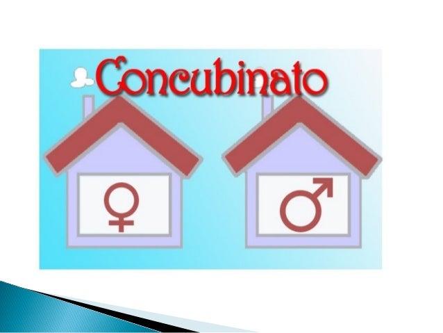 Matrimonio Y Concubinato : El concubinato