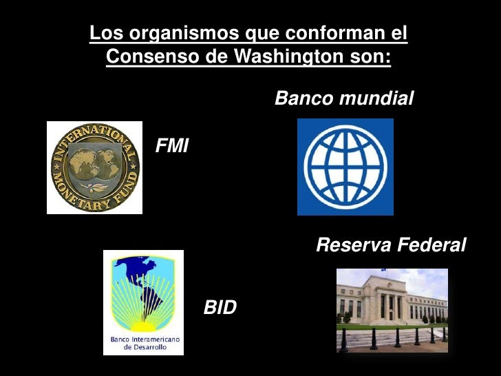 "Image result for ""CONSENSO DE WASHINGTON"""