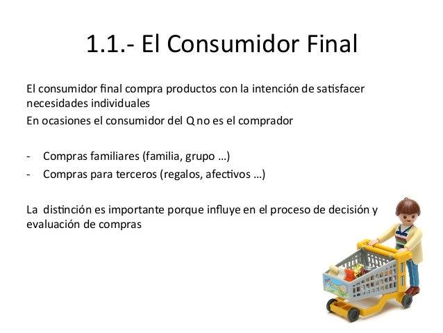 1.1.-‐  El  Consumidor  Final             El  consumidor  final  compra  productos  con  la  i...
