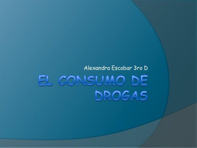 Alexandra Escobar 3ro D