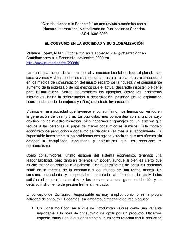 """""""Contribuciones a la Economía"""" es una revista académica con el Número Internacional Normalizado de Publicaciones Seriadas ..."""