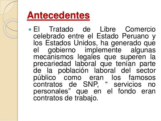 EL CONTRATO ADMINISTRATIVO DE SERVICIOS -CAS Slide 2
