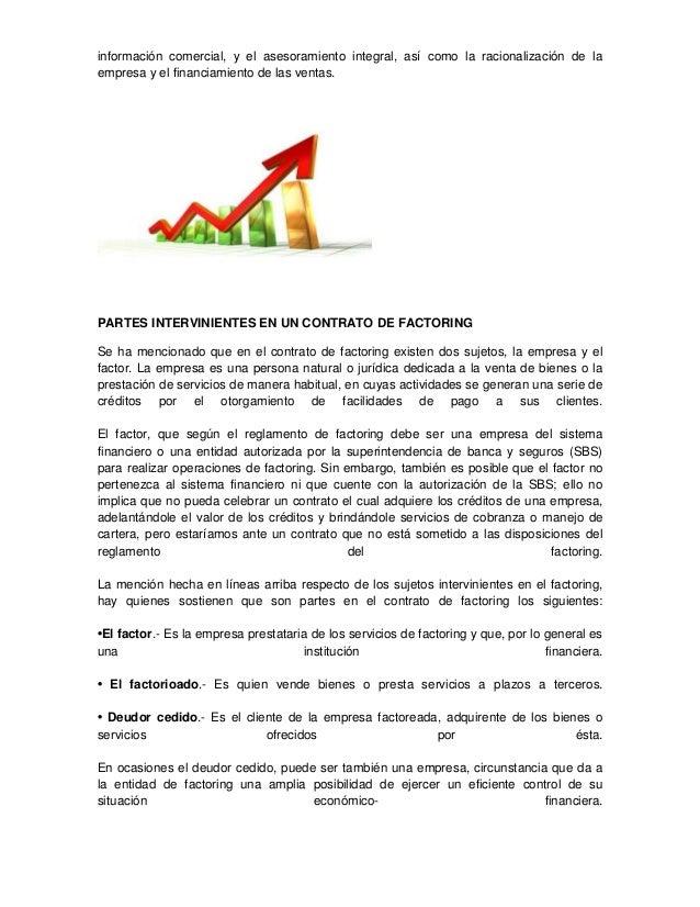 El contrato de factoring Slide 3