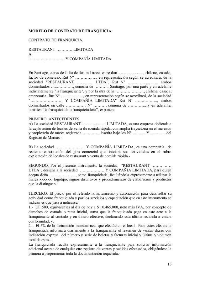 Modelos y contratos for Modelo contrato indefinido