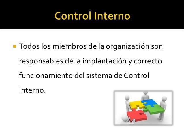 El control interno y las finanzas
