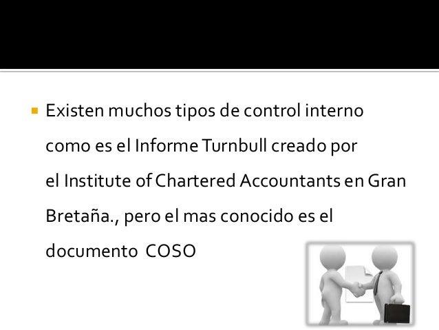 El informe Coso consta de 2 partes:   Un resumen para la dirección, que introduce los    principales conceptos.   El mar...