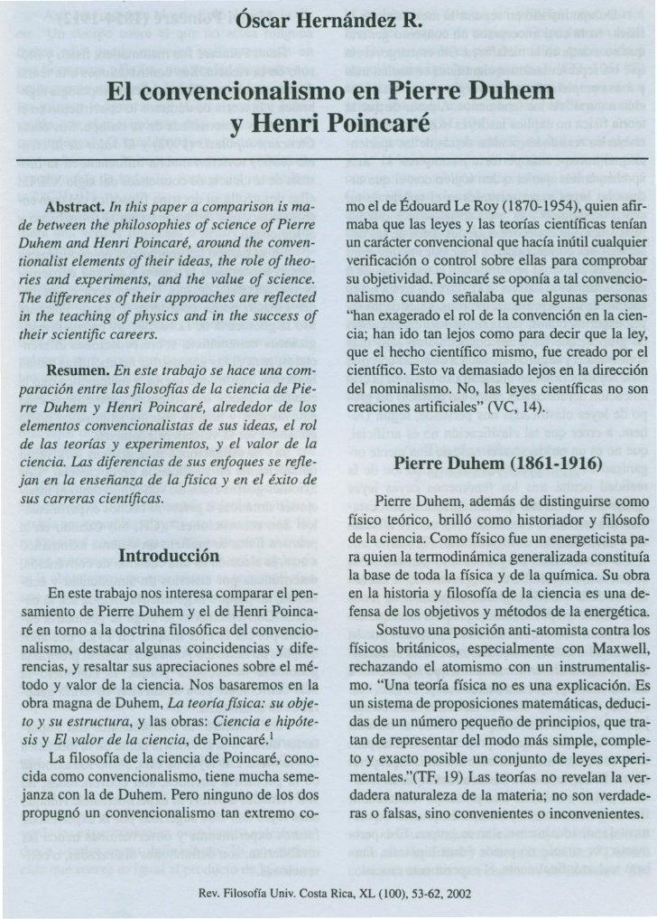 ,.                   ,.                                      Oscar Hernandez R.               El convencionalismo en Pierr...