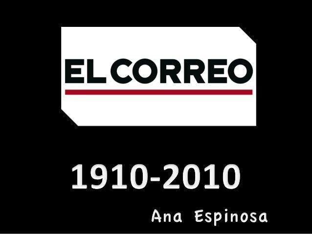 EL CORREO (1910 2010)