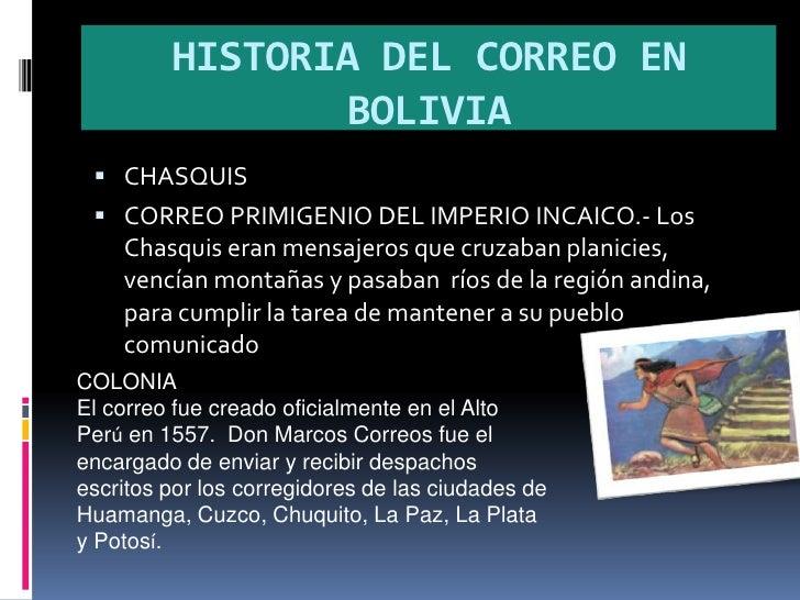 Historia del correo for Correo la 14