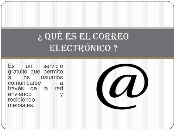 El correo electronico diapositivas 13 09 sa   copia Slide 2