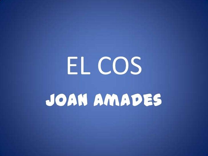 EL COSJoan Amades