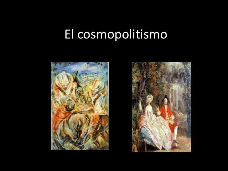 El cosmopolitismo