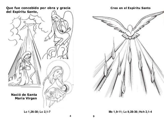 El Credo Catecismo Catolico Comic