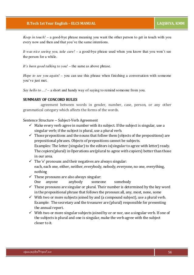 English Language Communication Skills Lab Manual (R13) by