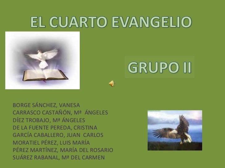 BORGE SÁNCHEZ, VANESA CARRASCO CASTAÑÓN, Mª  ÁNGELES DÍEZ TROBAJO, Mª ÁNGELES DE LA FUENTE PEREDA, CRISTINA GARCÍA CABALLE...