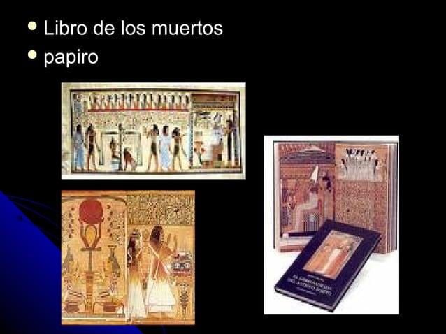  Libro de los muertosLibro de los muertos  papiropapiro