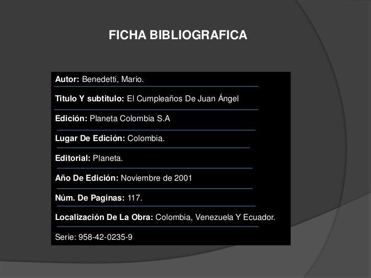 El Cumpleaños De Juan Angel Analisis Literarioangela