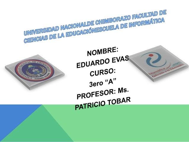 EL CURRÍCULO EDUCATIVO Y SUS COMPONENTES