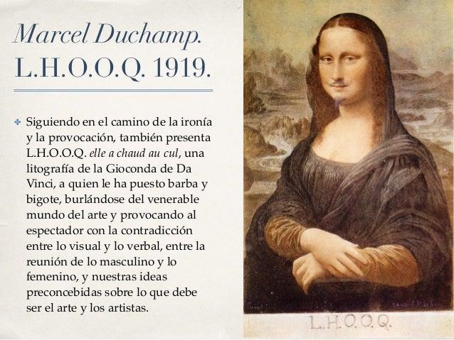 El dadaísmo Dadaism Mona Lisa