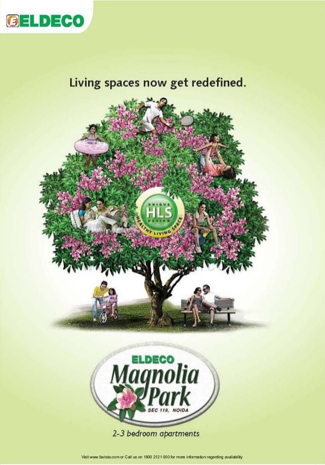 Living spaces now get redefined.  ELDECO  2-3 bedroom apartments Visit www.favista.com or Call us on 1800 2121 000 for mor...