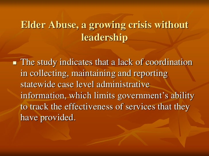 elder abuse case studies