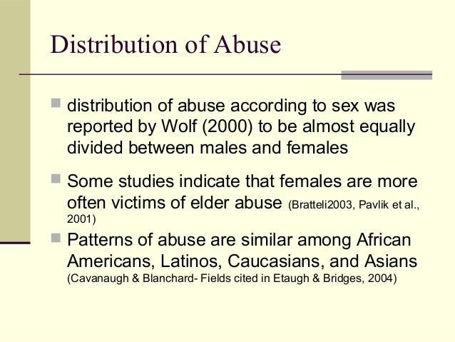 failure to report elder abuse