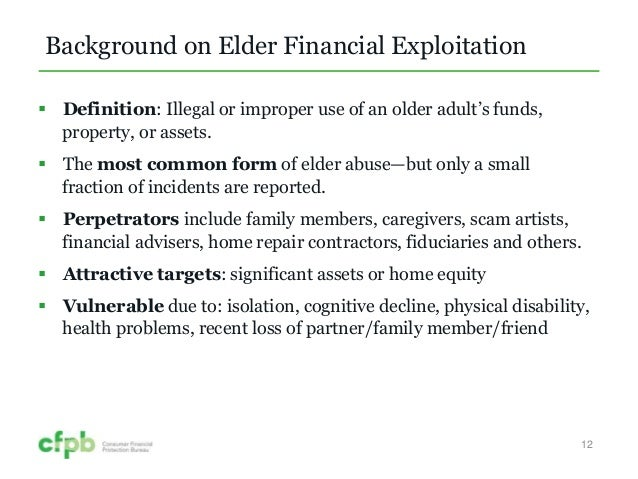 Elder Abuse on the Front Lines