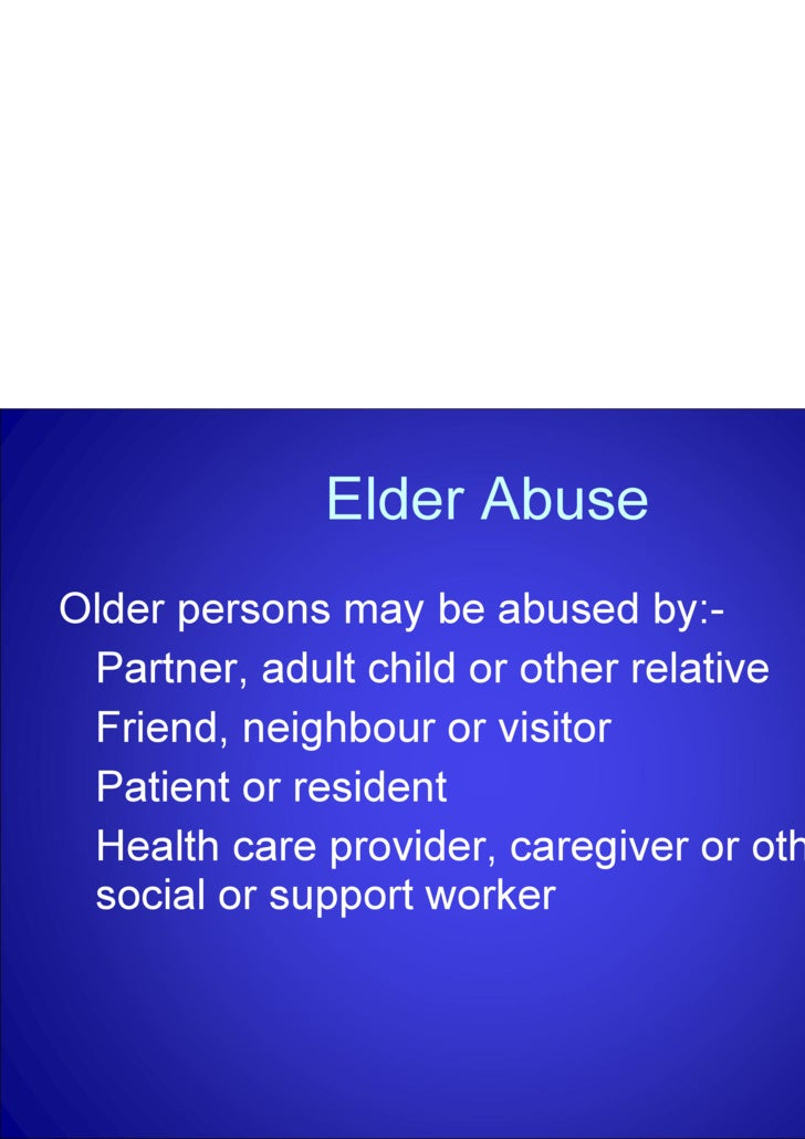 elder abuse essay elder abuse essay outline