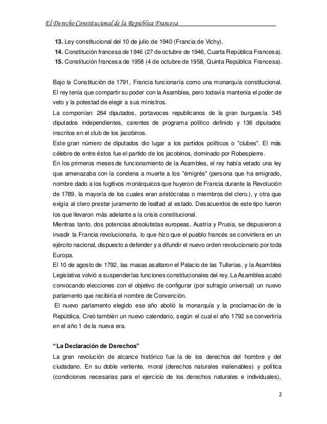 El derecho constitucional de la rep blica francesa for Republica francesa wikipedia