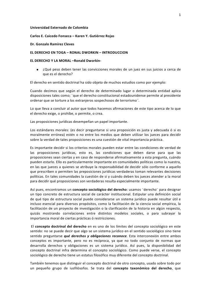 Universidad Externado de Colombia<br />Carlos E. Caicedo Fonseca – Karen Y. Gutiérrez Rojas<br />Dr. Gonzalo Ramírez Cleve...