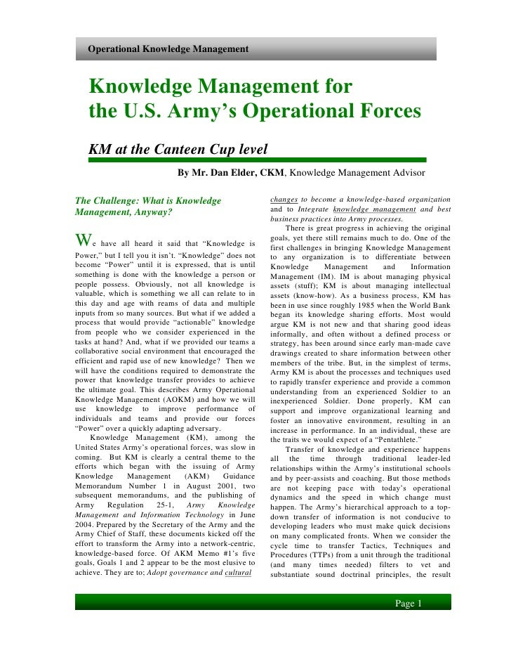 knowledge management white papers Read a description of knowledge management this is also known as business knowledge, km free detailed reports on knowledge management are also available.