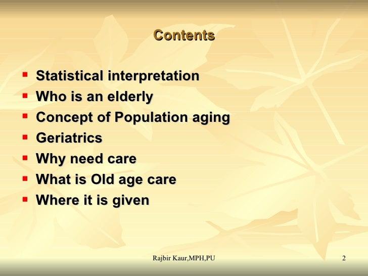 Elderly Care Slide 2