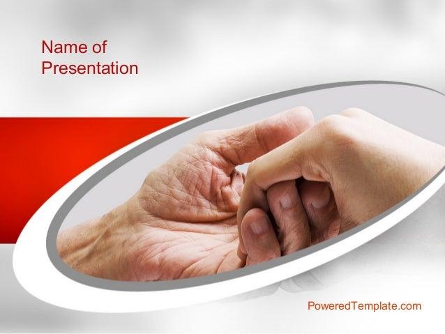 Elderly care powerpoint template by poweredtemplatecom for Poweredtemplate