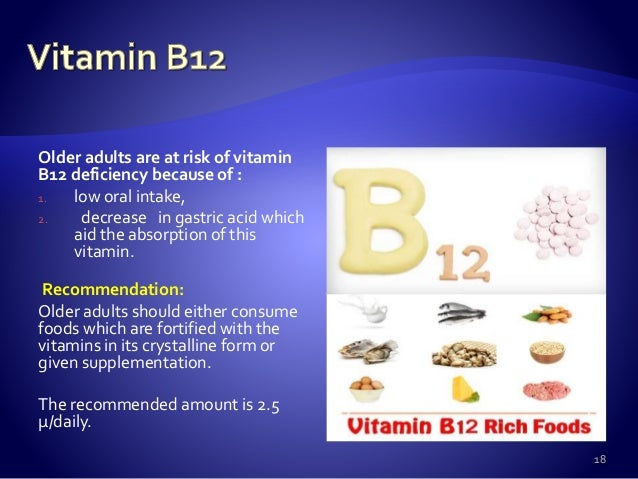 recommended vitamin intake for adults