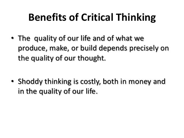 short essay on critical thinking Critical thinking is the process of the process of using critical thinking to guide writing is called critical what is a five-paragraph essay.