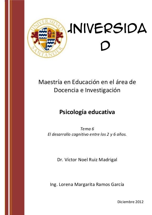 Universida                 d          Santande                      rMaestría en Educación en el área de    Docencia e Inv...