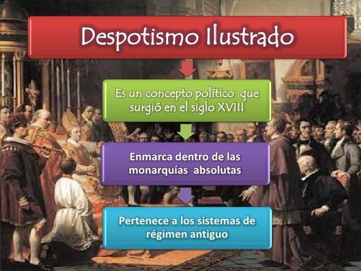 El despotismo ilustrado y sus intelectuales 2[1] Slide 2