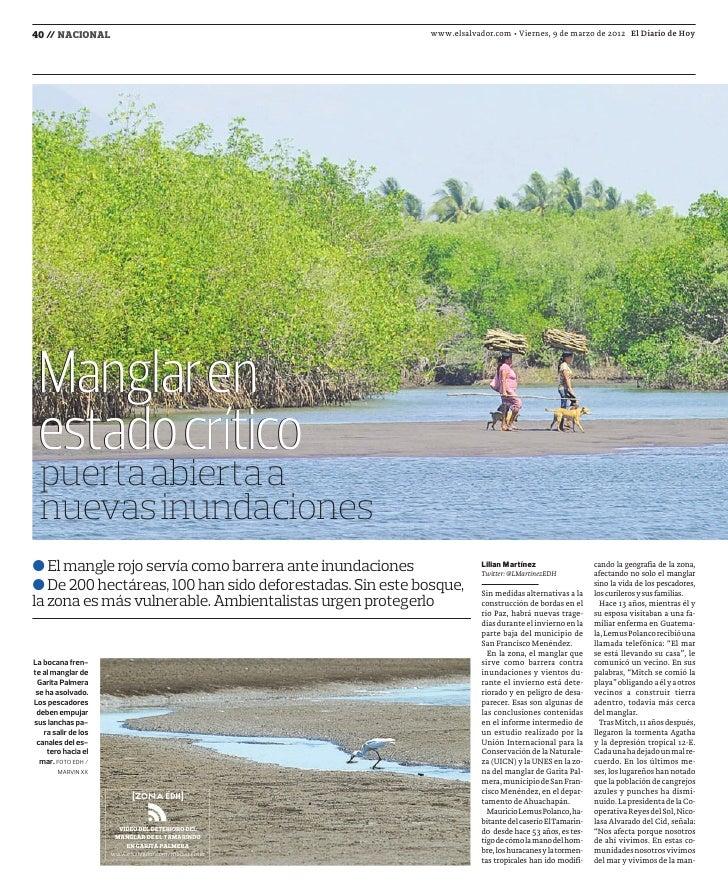 40 / NACIONAL    /                                                     www.elsalvador.com • Viernes, 9 de marzo de 2012 El...