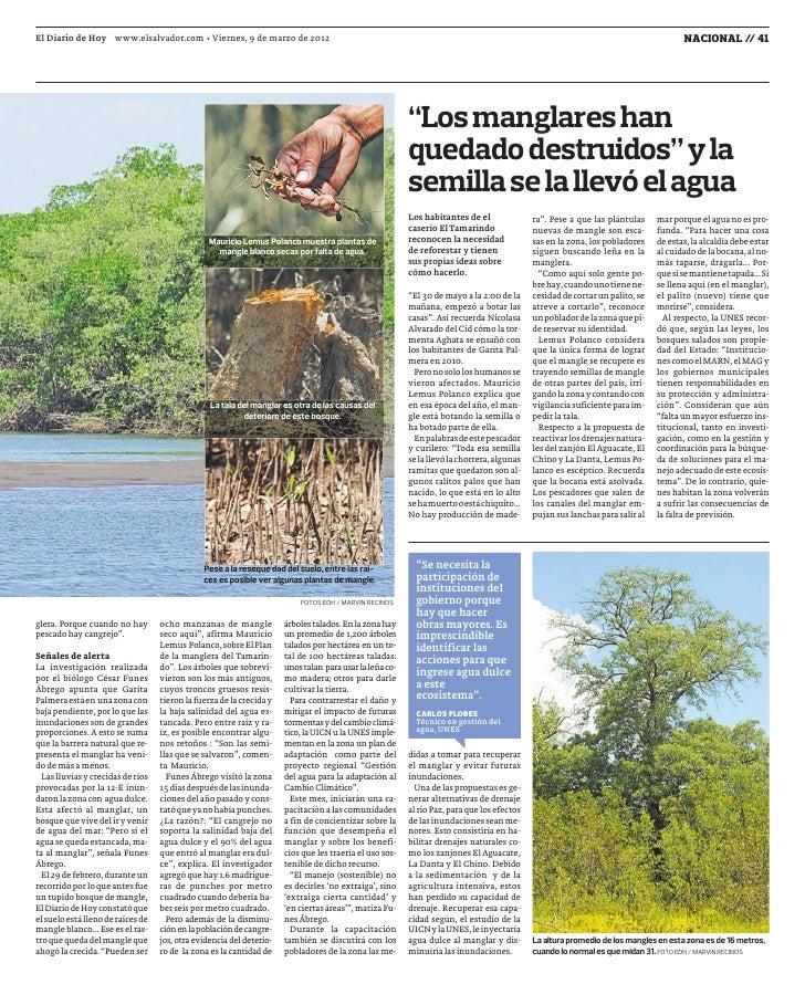 El Diario de Hoy www.elsalvador.com • Viernes, 9 de marzo de 2012                                                         ...