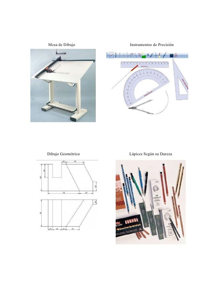 El dibujo tecnico for Mesas de dibujo artistico