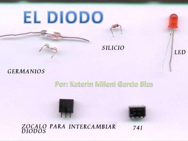 El diodo ideal es un componente discreto que permite la circulación de corriente entre susterminales en un determinado sen...