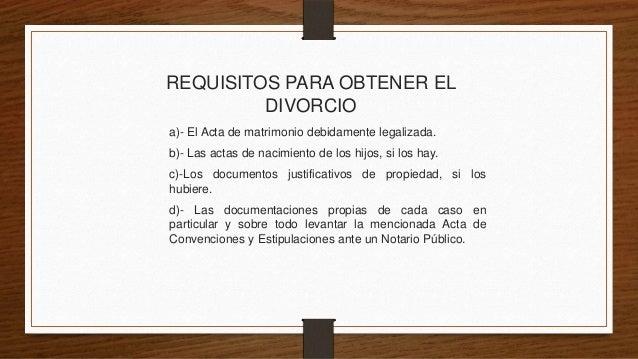 Divorcio Matrimonio Catolico Ante Notario : El divorcio
