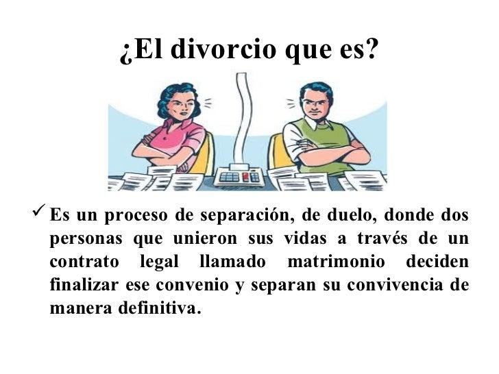 El Divorcio Y Las Pérdidas