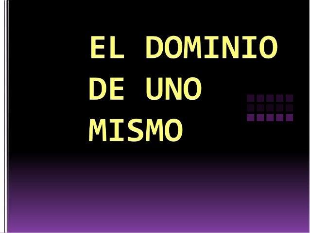 DOMINIO DE UNO MISMO LA BRÚJULA INTERNA MÁSALLÁ DE LOS PROSY LOS CONTRAS LA FUENTE DE LA SENSACIÓN VISCERAL EL PODER DE LA...