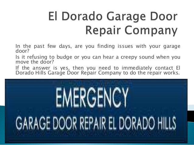 In the past few days, are you finding issues with your garagedoor?Is it refusing to budge or you can hear a creepy sound w...