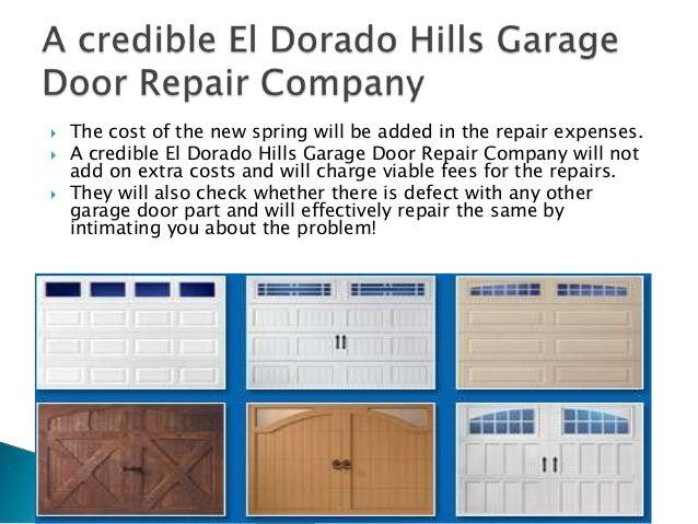 El Dorado Garage Door Repair Company
